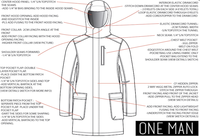 Technical Weatherproof Outerwear with Style by Todd