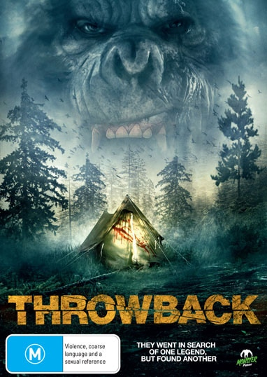 The Throwback international DVD cover.