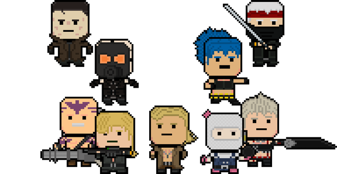Mongrel Corps - The Central Antagonists of Pixel Hero Prologue