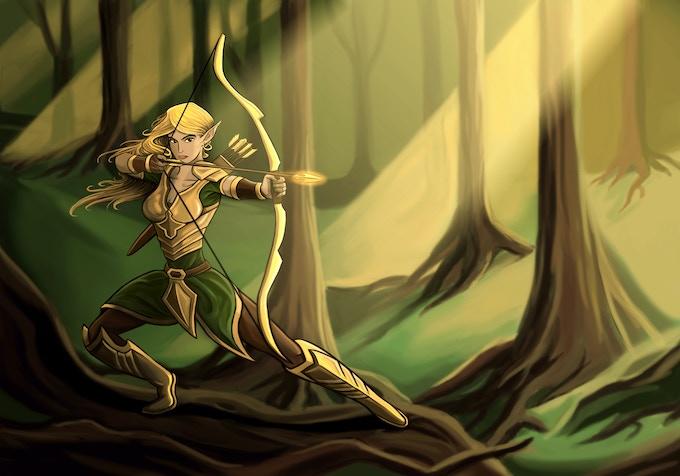 Seraphene: The Golden Archer