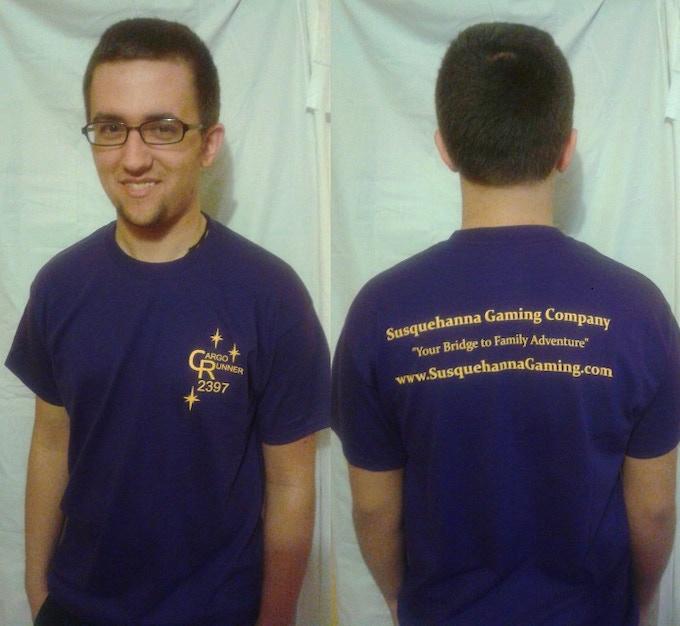 Cargo Runner 2397 T-Shirt, Front & Back