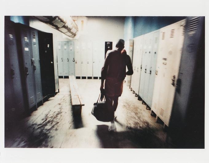 Post fight locker room