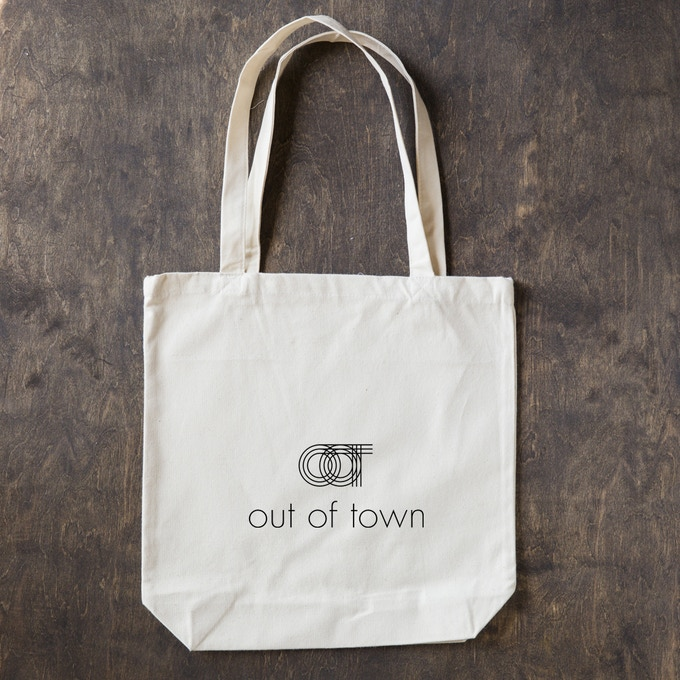 Out Of Town tote bag