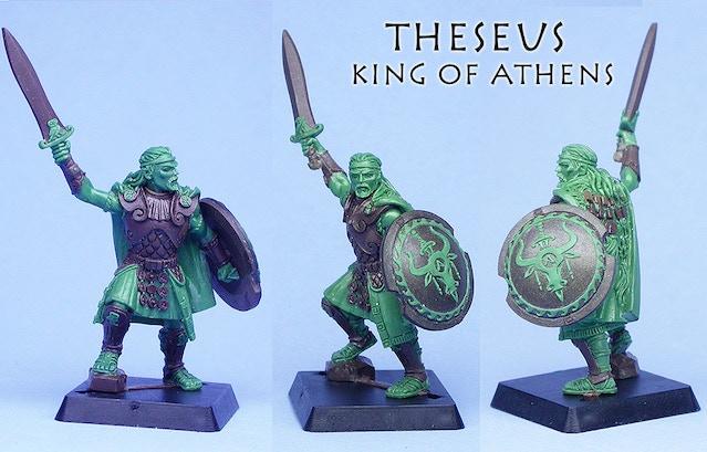 Theseus, King of Athens