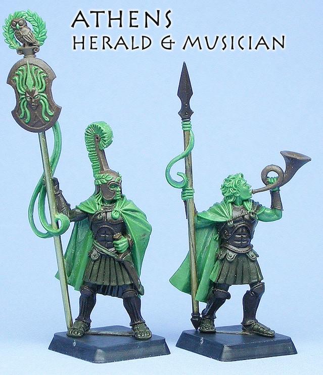 Athenian Herald & Musician