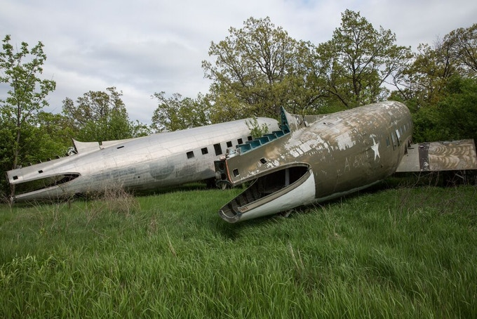 Other aircraft awaiting conversion in Basler's boneyard