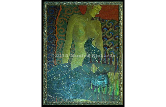 """Mermaids"" original painting reward"