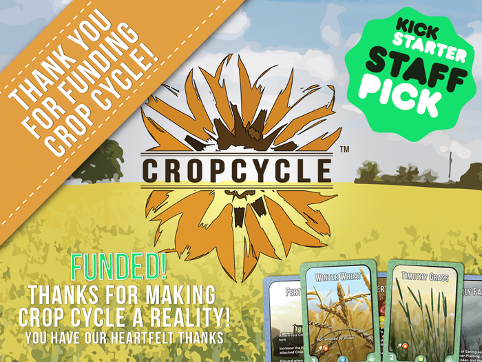 Plant crops, overcome nature and reap what you have sown before your opponents in this game of competitive farming.
