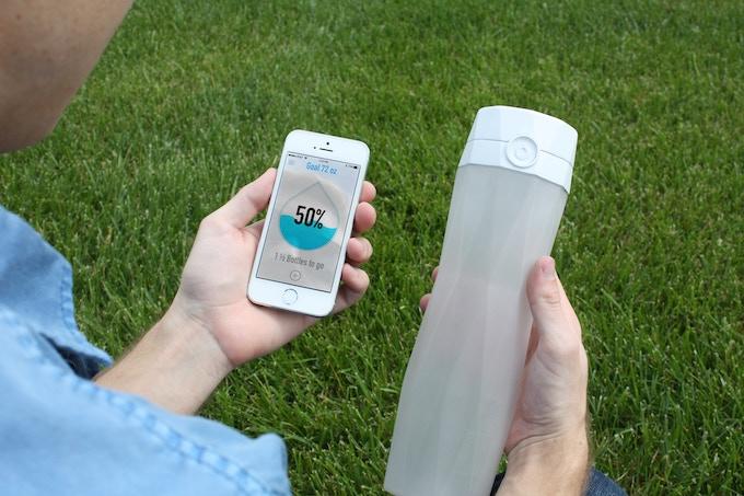 hidrateme botella agua inteligente