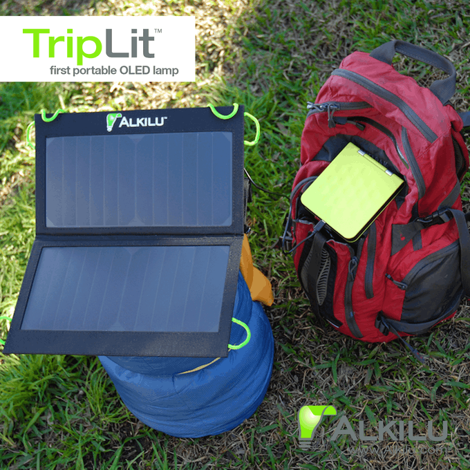 TripLit with Solar Charger