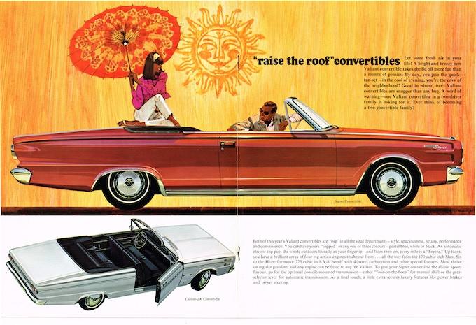 1960s Chrysler brochure