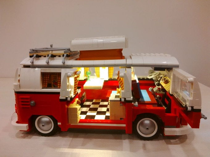 Lightup Kits For Lego Creator Camper Van Batman Tumbler