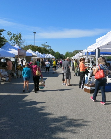 A beautiful Saturday at the Western Wake Farmers Market in Cary, NC!