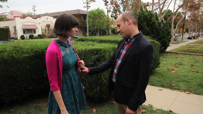 Devin Sidell as Sally and Scott Epstein as Jonathan