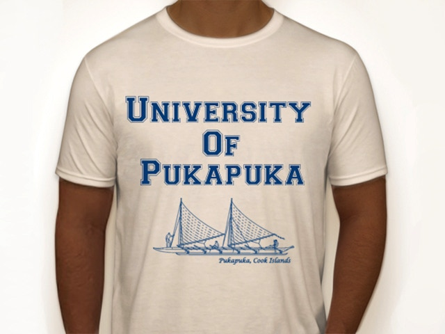 University of Pukapuka T-Shirt (available in different colors)