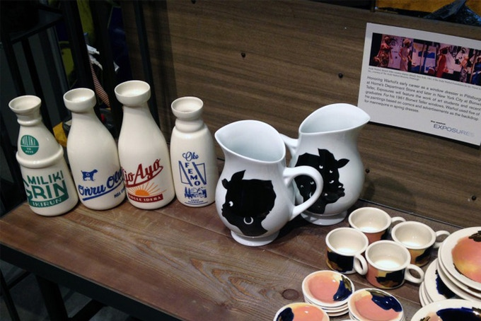 "At the Andy Warhol Museum's 2015 ""Exposures"" series. Seen with Kara Walker's ""Untitled"" porcelain pitcher. (photo courtesy of the Andy Warhol Museum)"