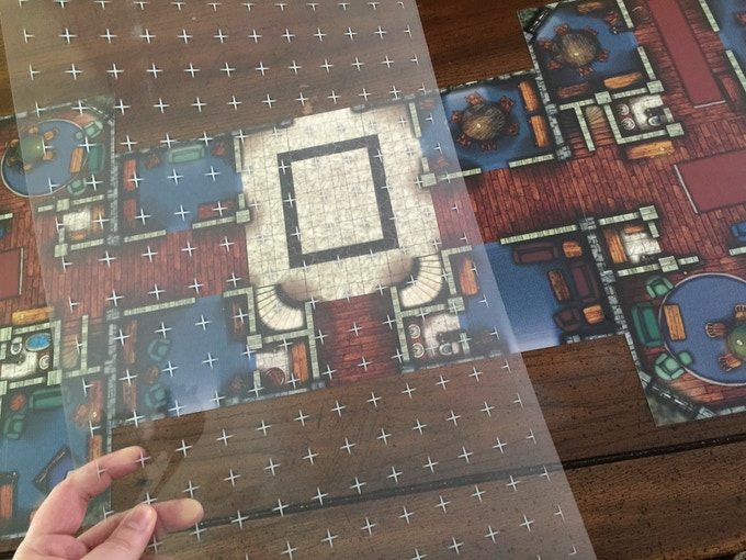 Clear Map Grids