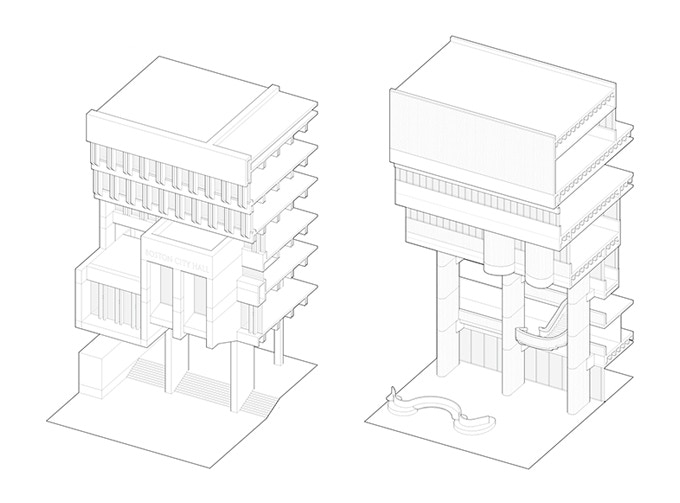 Choose from one of these axonometric drawings