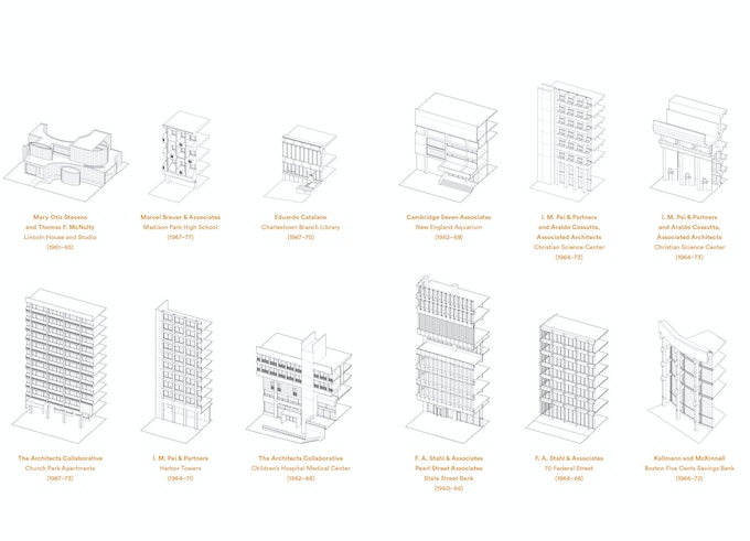 Choose from any of these axonometric drawings