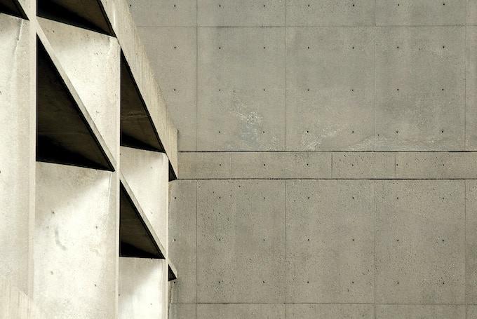 Carpenter Center for the Arts, Le Corbusier with Sert, Jackson & Gourley, 1958–63