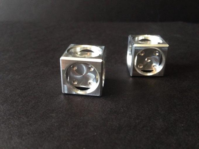 Mischief D6 Dice in Aluminum