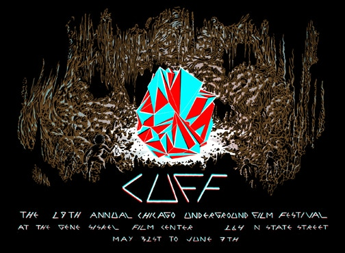 CUFF poster design by actor Lyra Hill