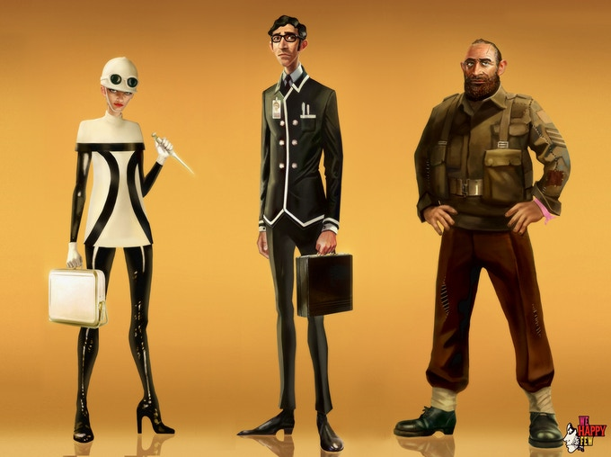 What a handsome bunch of Downers - Concept