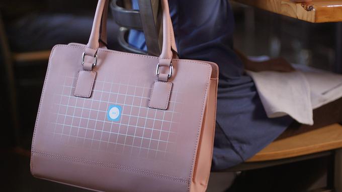 Smart purse with MetaWear embedded.