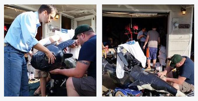 It takes a village to build a Magic Wheelchair!