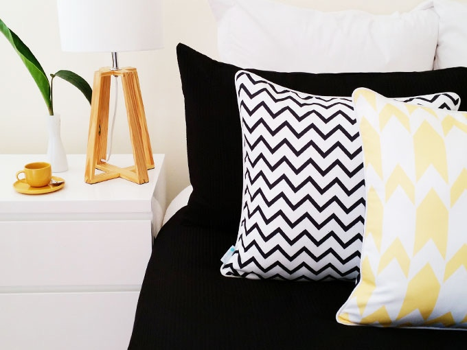 Design your own soft furnishings.
