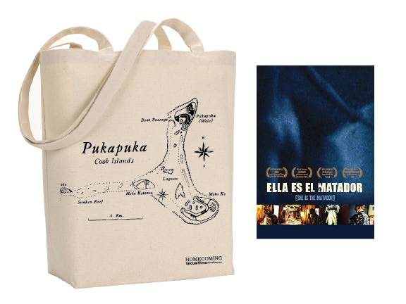 Map Tote Bag & Matador DVD