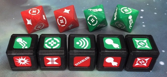 Stretch Goal Unlocked: ModCubes compatible with Star Trek: Attack Wing