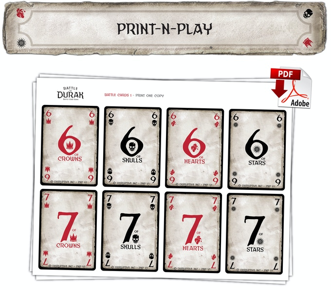 Try the 2-player Print N Play