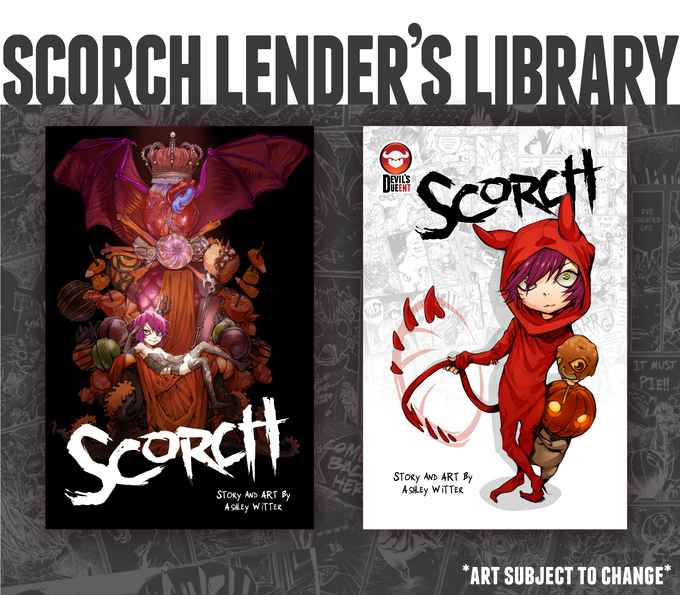 SCORCH Lender's Library - KS Exclusive Cover (left) & Standard Cover (right)