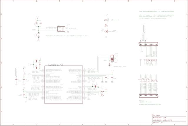 Neutrino: The tiny 32-bit Arduino Zero compatible! by