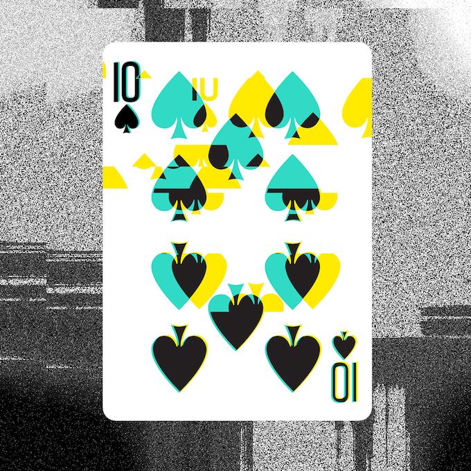 GLITCH 2.0 // Spades 10