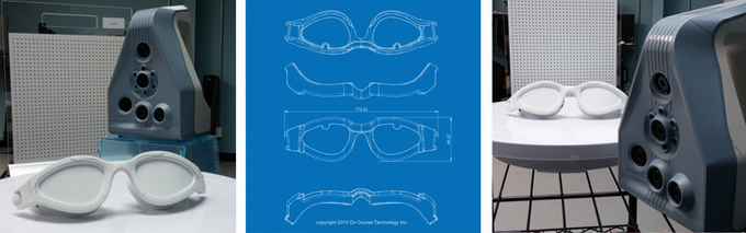 3D Scans of Our Goggles