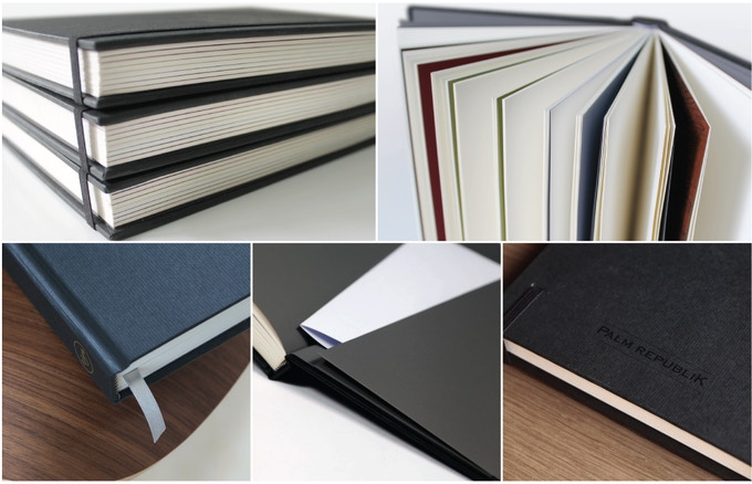 Details, details, details... We cast a critical eye in order to ensure that no detail was overlooked, with a goal to produce not only an aesthetically pleasing sketchbook, but aslo of the highest quality that we can.