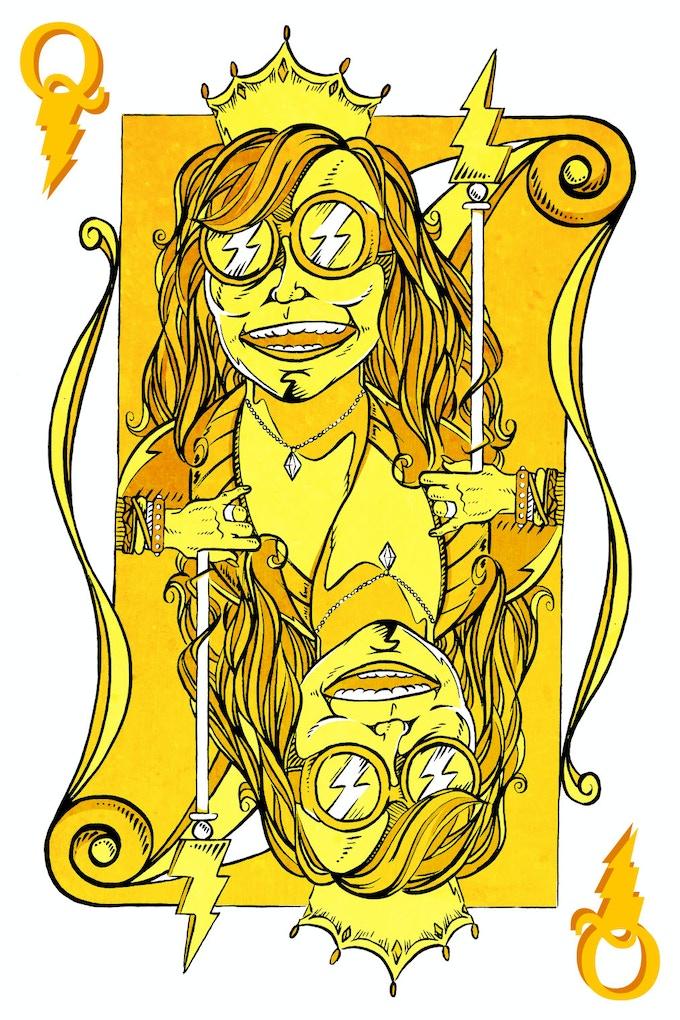 Janis vignette by Alex Clark
