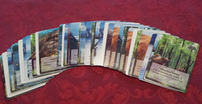 The Phase 1 deck