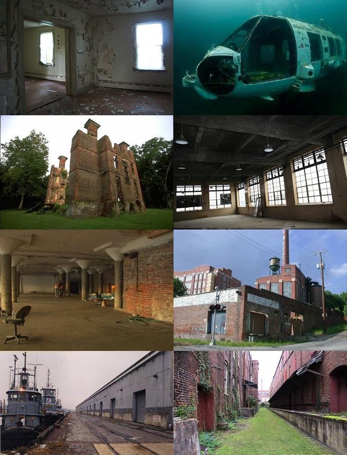 Potential Locations in Virginia through the Virginia Film Office