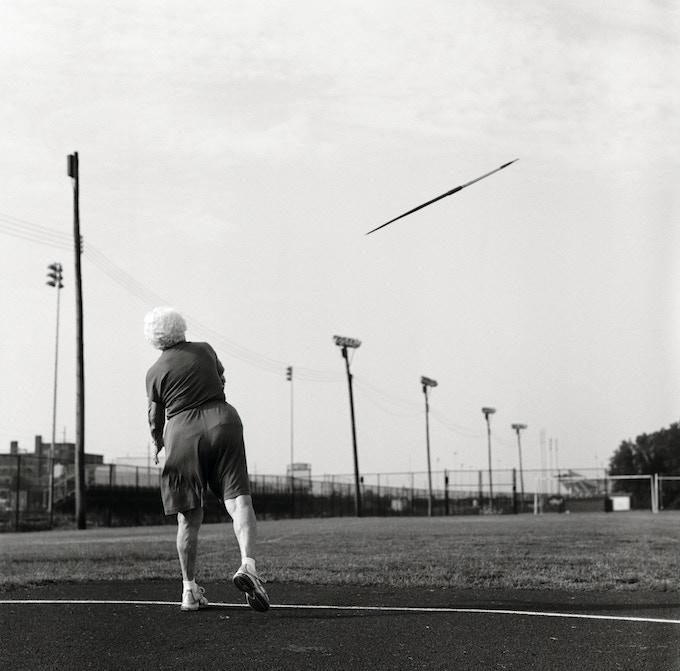 Helen, 87, javelin. Louisville, Kentucky. 2007.