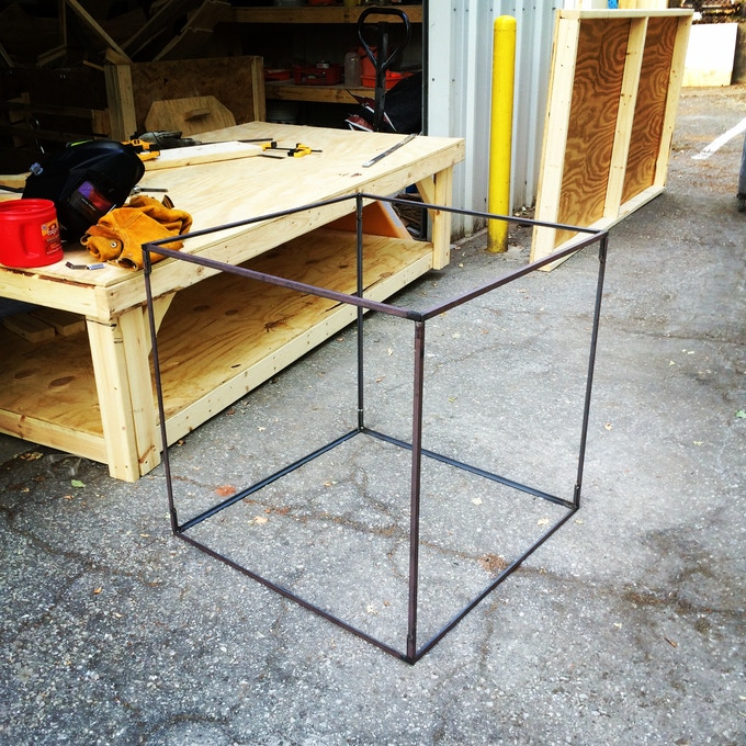 Rigid Steel Frame : Domo arigato mr reflecto electric forest by
