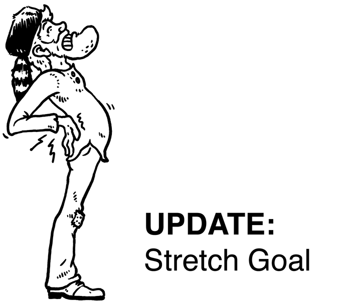 New Stretch Goal:  $12,000!