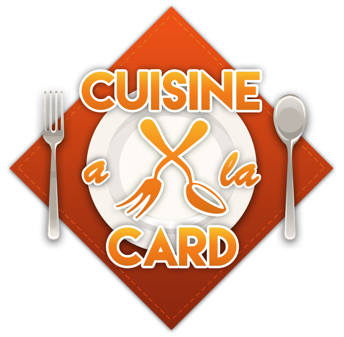 Cuisine a la Card is a fast-paced, competitive deck-building card game of creating and submitting meals for a panel of judges.
