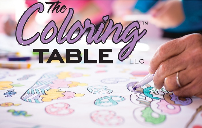 The Coloring Table by Megan Dove — Kickstarter