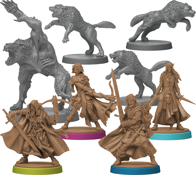 The highly detailed Wulfsburg miniatures