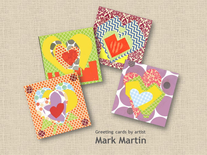 Greeting Cards by Artist Mark Martin