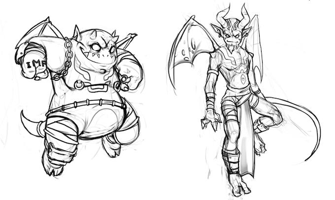 Demon Concepts
