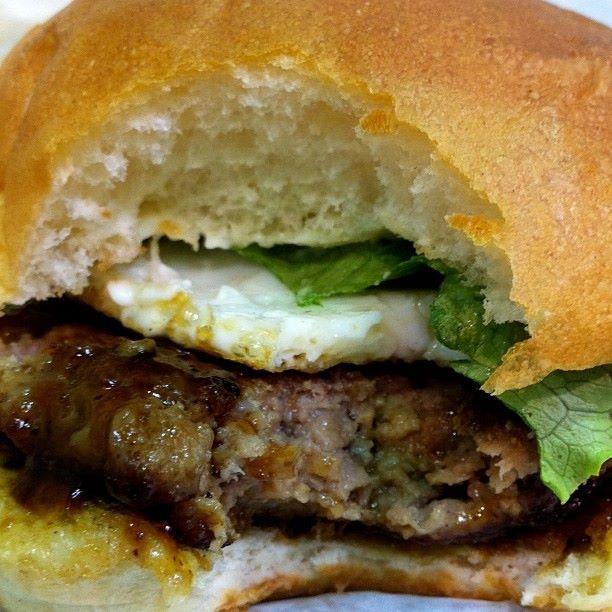 Teriyaki Wasabi Burger